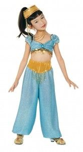 Princess Jasmine Aladdin Costume Halloween Kids Girls Children  sc 1 st  Pinterest & 20 best Arabian costume images on Pinterest | Arabian costume ...