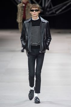 075616c67bf Hedi Slimane s First Men s Collection for Celine Is Exactly What You  Expected It to Be