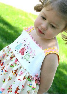 Adorable little dress.