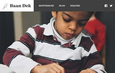 Baan Dek - Simple and straightforward the Baan Dek site is. I like the oversized imagery and the simple layout. Solid responsive design and minimal page count make this a pretty easy to digest website. Bravo for their brevity.