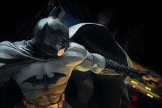 Batman by Khasis Lieb, via Behance