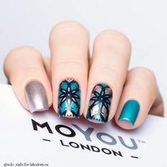 Плитка для стемпинга MoYou London Kaleidoscope 06 - купить с доставкой по Москве, CПб и всей России.