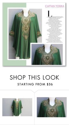 """""""Caftan Yosika 15/II"""" by amra-mak ❤ liked on Polyvore featuring caftanyosika"""