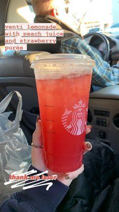 Starbucks Drink Menu, Starbucks Specialty Drinks, Secret Starbucks Recipes, Starbucks Hacks, Healthy Starbucks Drinks, How To Order Starbucks, Starbucks Refreshers, Starbucks Specials, Summertime Drinks