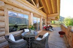 Enjoy our picture gallery of the Pioneer built log chalets, Woodridge Luxury Chalets, situated in the alpine resort of Werfenweng, Austria.