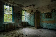 Wheel chair in abandoned asylum italy, via Flickr. Description from pinterest.com. I searched for this on bing.com/images