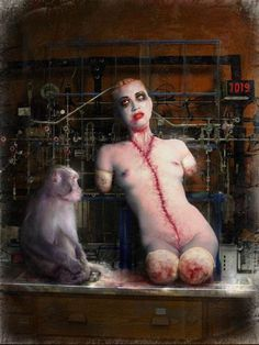 I love Art ,Horror and other nice things. All the Pictures that I post do not belong to me! Creepy Art, Creepy Dolls, Weird Art, Horror Art, Horror Movies, Scream, Creepy Pictures, Dark And Twisted, My Demons
