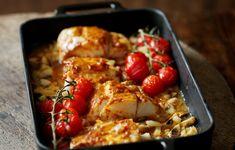 Μπακαλιάρος στο φούρνο - http://www.daily-news.gr/cuisine/bakaliaros-sto-fourno/