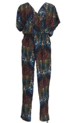 "NWT RBL ""Vanessa"" Multi-Colored Jumpsuit Sz. S Retail $79+Tax #Anthropologie #Jumpsuit"