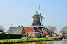 Onderndaam / Onderdendam - molen Hunsingo