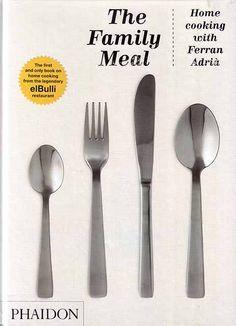 The family meal  Home cooking with Ferran Adrià  El Bulli es ya para siempre un referente gastronómico ineludible. La inventiva, sofisticación, imaginación y técnica de Ferran Adrià y su equipo ha revolucionado la manera de entender la restauración.