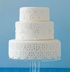 Modern white. Perfect. Www.fondantandapronstrings.com