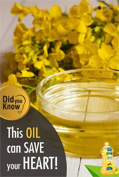#CanolInNews  This Oil can SAVE your HEART  According to the scientific research, alpha-linolenic acid present in the canola oil helps to protect the heart by its effect on blood pressure, cholesterol and inflammation. Canola oil can be named as heart-smart, as there are enough evidence of canola oil heart's benefits. Canola oil is high in energy; 100 g of oil gives 884 calories. Though, its high ratio of more mono-unsaturated fatty acids to saturated fatty acids makes it healthy oil for…