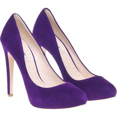 Miu Miu SUEDE PUMP WITH HIDDEN PLATFORM