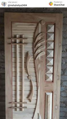 Wooden Front Door Design, Main Entrance Door Design, Wooden Front Doors, Wood Doors, House Ceiling Design, House Gate Design, Wall Design, Modern Wooden Doors, Contemporary Front Doors