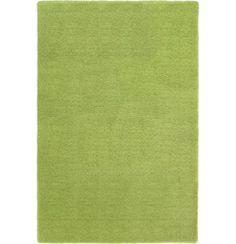 """Der Teppich """"Livorno Grün"""" verwöhnt Ihre Füße! Er besteht aus 100 % Polyester und kommt in frischem Grün. Mit einer Breite von ca. 140 cm sowie einer Länge von ca. 200 cm bereichert er Ihr Wohn- oder Schlafzimmer und lässt Sie komfortabel gehen. Mit diesem rechteckigen Teppich von SCHÖNER WOHNEN halten Sie Ihre Füße warm!"""