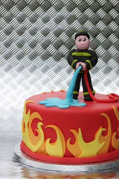 Fireman Cake | Shared by LION