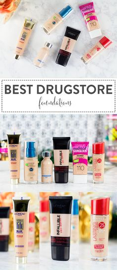 Are you ready for the Best Drugstore Foundations of 2015? You need these on your 2016 shopping list! Click through to find out the winner of the Best Damn Foundation from the drugstore.