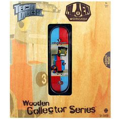Tech Deck Wooden Collector Series [Mikey Taylor - Alien Workshop]