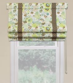 Two-Toned Relax Roman Shade - @joannstores #curtains
