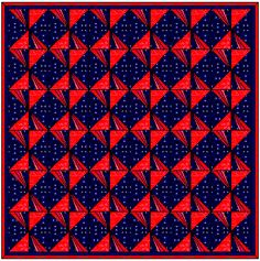 Free Quilt Block Pattern - Block of the Month Pinwheel series #10 - Easy Pinwheel  Block