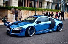 R8 Chrome Blue...
