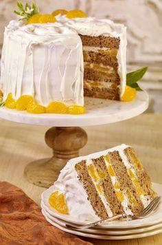 Carrot Mandarin Layer Cake