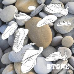 "Findings of ""Stone"", a simple rock-climbing-shoe."