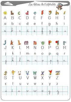 alphabet lesson – La Fouine en clis English, learn english as a child, ea… Alphabet A, French Lessons, English Lessons, Learn French, Learn English, English English, Autism Education, Teaching French, Home Schooling