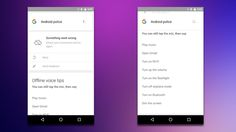 Use Some Google Now Voice Commands Without an Internet Connection