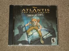 Atlantis: The Lost Empire: Trial By Fire (Disney, Windows, 2001, Game, E-Rated) #Disney