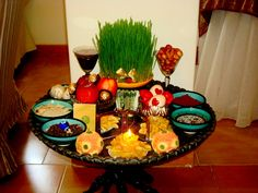 Haft Sin,for persian new year (Nowrouz) <3