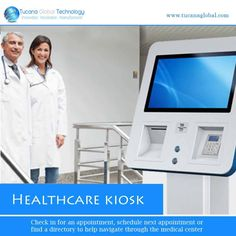 With #healthcare #kiosk, a #patient can check in for an #appointment, #schedule their next appointment or find a #directory to help #navigate them through the #medical #center. #TucanaGlobalTechnology #Manufacturer #HongKong