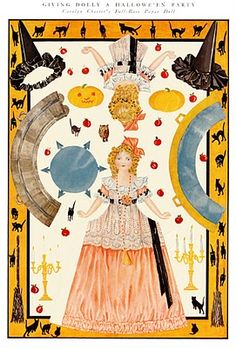 This is what the 1912 Halloween paper doll set from E.K. Duncans site