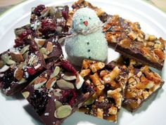Holiday ChocolateBark - Gluten-free, Egg-free, Dairy-free, & Vegan Recipe