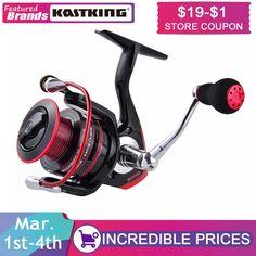 KastKing Flagship Sharky II 3000 Waterproof  Spinning Fishing Reels 8KG Max Drag