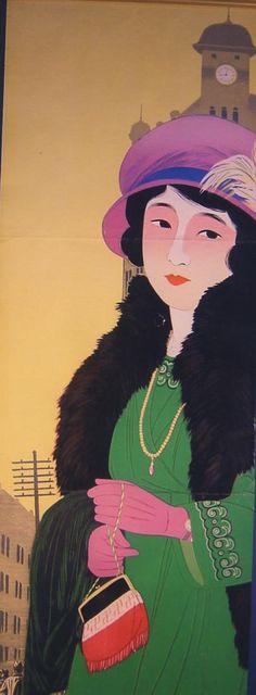 Clock Hikifuda - Clock Tower and the Modern Girl