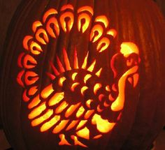 how to make a carved turkey