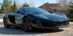 Mclaren MP4-12C  My FAVORITE car that I will NEVER own