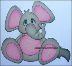pot belly elephant