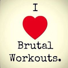Share this awesome #quote if you love brutal #crossfit workouts!