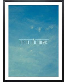 Little Things VON Galaxy Eyes now on JUNIQE!