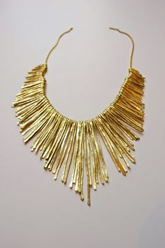 My Girlish Whims: DIY Anthropologie Knock-Off Necklace