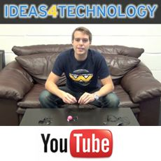 1st Video Episode of Ideas4Technology with an overview of the Mighty Boom Ball device that turns every object into a speaker
