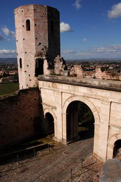 The Properzio towers - Spello, Perugia, Umbria Italy