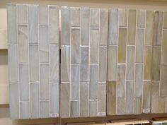 Kitchen: Backsplash Tile. The first one is exactly what i'm looking for