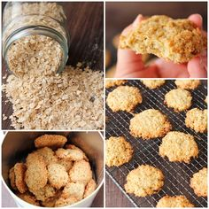 galletas de avena receta Sweet Recipes, Dog Food Recipes, Cookie Recipes, Dessert Recipes, Healthy Recipes, Delicious Desserts, Yummy Food, Cooking Time, Cupcake Cakes