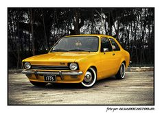 CHEVETTE Chevy, Car Chevrolet, Mitsubishi Cars, Yellow Car, Ford, All Cars, Go Kart, Custom Cars, Concept Cars