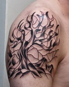 tree tattoo designs for men - Tattoos - Zimbio