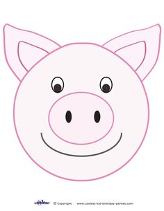 picture regarding Pig Printable identify pig template printable -